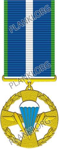 За відмінну службу в аеромобільних військах Сухопутних військ Збройних Сил України