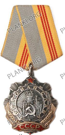 Орден Трудовой Славы ІІI степени
