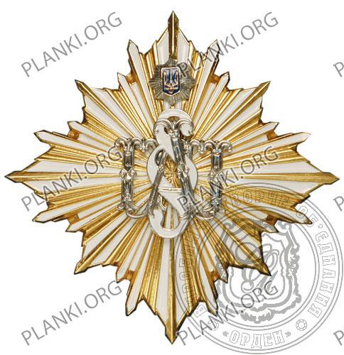 Почесний знак ПАП ОВС України I ступеню